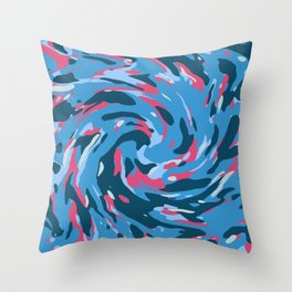Abstract organic pattern 20 Throw Pillow