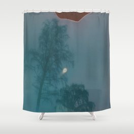 For the love of all things polaroid ~ winter trees Shower Curtain