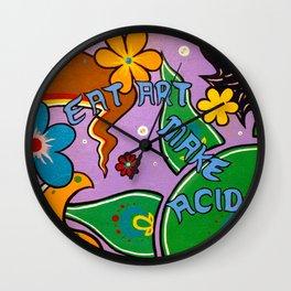 eat art Wall Clock