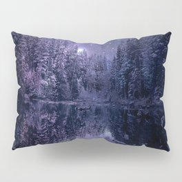 A Cold Winter's Night Pillow Sham