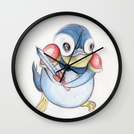 Piplup Soldier  Wall Clock