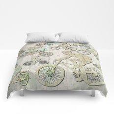 Bike Brooklyn Comforters