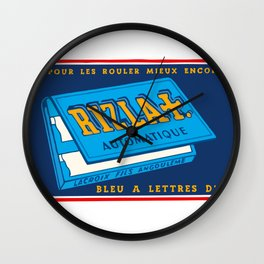 RIZLA rolling papers Wall Clock