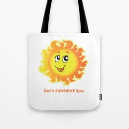 Dar's SUNSHINE Spa Tote Bag