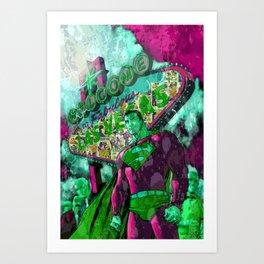 Super Sin Art Print
