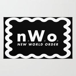 new WORLD order Rug