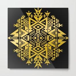 GOLD LiGHT OF WiSDOM Metal Print