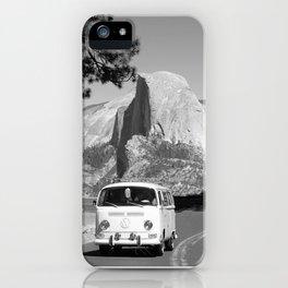 Yosemite Vanlife (Black & White) Series iPhone Case