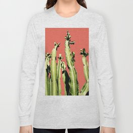 Cactus - red Long Sleeve T-shirt