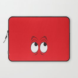 Monster Eyes Red Laptop Sleeve