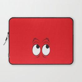 Monster Eyes Red Laptop Sleeve