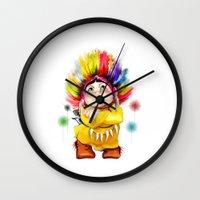 indian Wall Clocks featuring Indian  by tatiana-teni