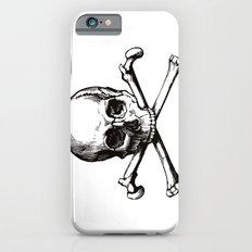 Skull and Crossbones   Jolly Roger iPhone 6s Slim Case