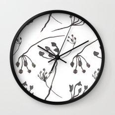 Autumn flowers 3 Wall Clock