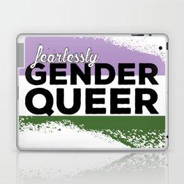 Fearlessly Genderqueer Laptop & iPad Skin