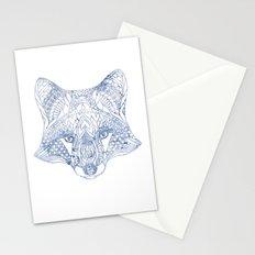 Boho fox Stationery Cards