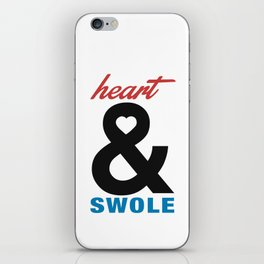 Heart & Swole iPhone Skin