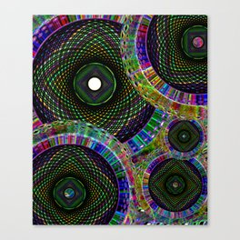 Spiral Multi Canvas Print