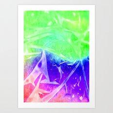 Aurora 3 - Green Sky Art Print