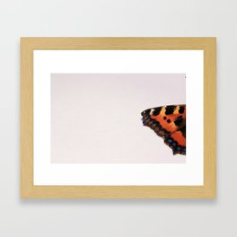 BUTTERFLY WING Framed Art Print
