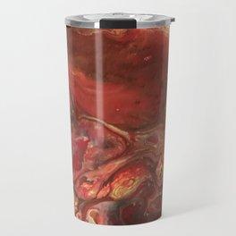 Acrylic Pour #42 Travel Mug
