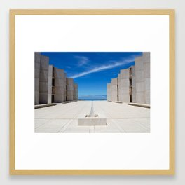 Salk Institute, La Jolla, California Framed Art Print