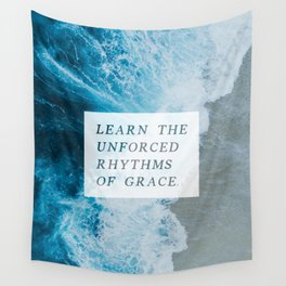 RHYTHMS OF GRACE Wall Tapestry