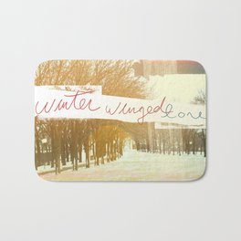 Without Care Like Birds Bath Mat