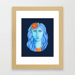 Skylar Larimar Framed Art Print