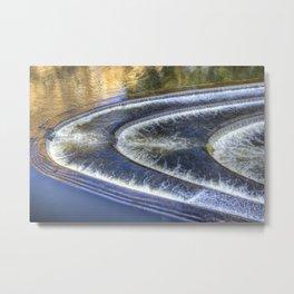 River Avon Bath Pulteney Weir Metal Print