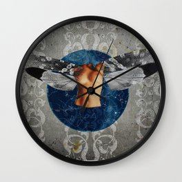 Wonder Wood Dream Mountains - The Demon Cleaner Series · Heavy Duty Wall Clock
