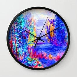 Renoir River Landscape Wall Clock