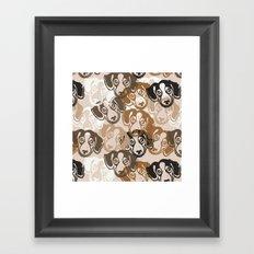 Beagles! Framed Art Print