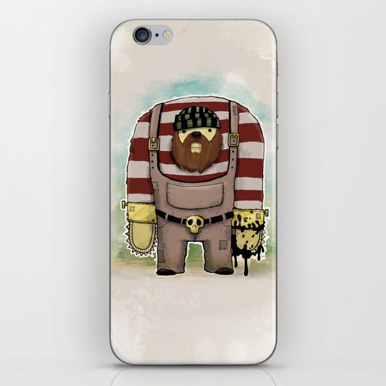 Twoody iPhone & iPod Skin