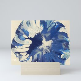 Blue Petunia  Mini Art Print