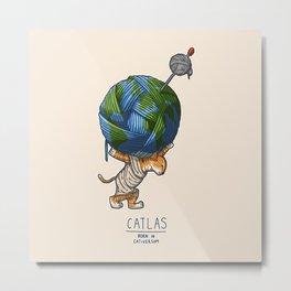 Catlas Metal Print