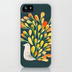 Watercolor Peacock iPhone (5, 5s) Slim Case