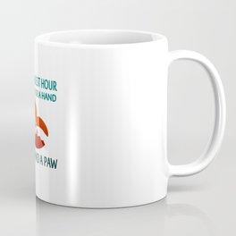 FOUND A PAW Coffee Mug