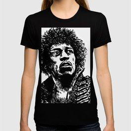 Jimi Hendrix Pop-Art T-shirt