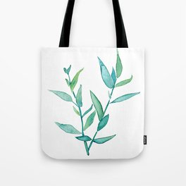 Bamboo Leaves Tote Bag