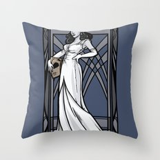The Flying Man Throw Pillow