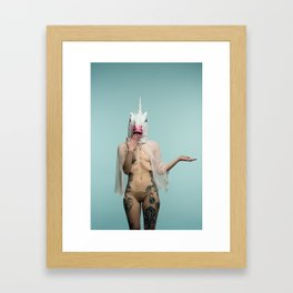 RainbW #1 Framed Art Print