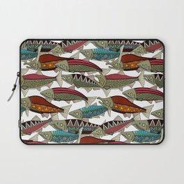 Alaskan salmon white Laptop Sleeve