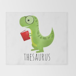 Thesaurus Throw Blanket
