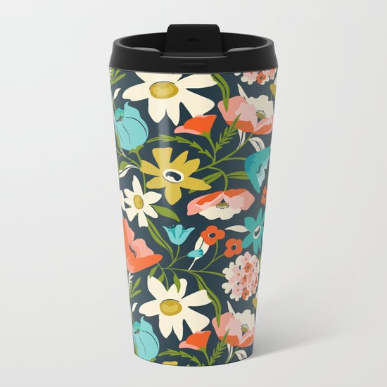 Nightshade Metal Travel Mug