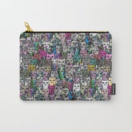 Gemstone Cats CYMK Carry-All Pouch