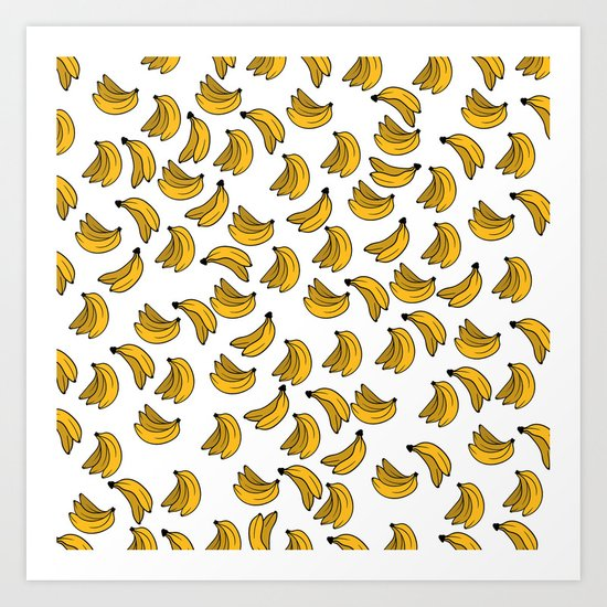 Banana 02 Art Print