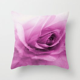 Abstract Of The Rose Throw Pillow