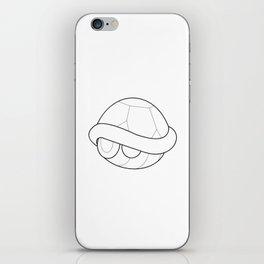 Mario Turtle Shell iPhone Skin
