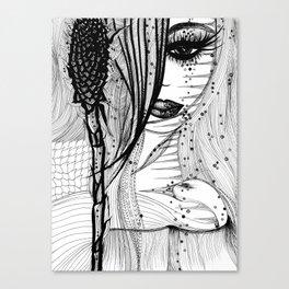 Valley Torch Canvas Print